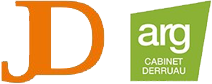Les logos du cabinet DERRUAU, experts-comptables en Aveyron